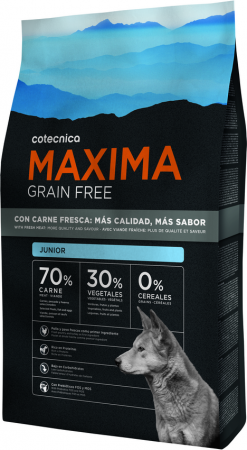 Ficticio 3kg Maxima Grain Free Junior def A4